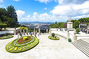 Santuario do Bom Jesus do Monte (Good Jesus of the Mount Sanctuary), Esplanade, UNESCO World Heritage Site, Tenoes, Braga, Minho, Portugal