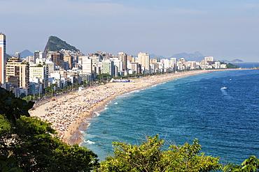 Leblon beach, Rio de Janeiro, Brazil, South America