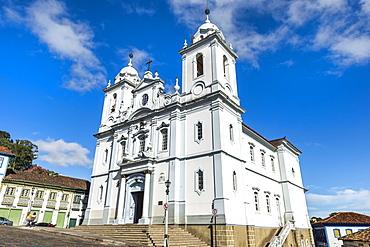Santo Antonio Cathedral, Diamantina, UNESCO World Heritage Site, Minas Gerais, Brazil, South America