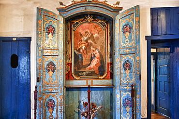 Interior of the Casa da Gloria, Diamantina, UNESCO World Heritage Site, Minas Gerais, Brazil, South America