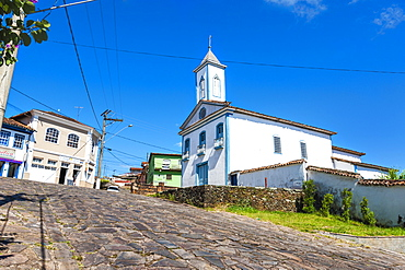 Nossa Senhora da Luz Church, Diamantina, UNESCO World Heritage Site, Minas Gerais, Brazil, South America