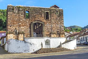 Nossa Senhora do Rosario Church, Sabara, Belo Horizonte, Minas Gerais, Brazil, South America