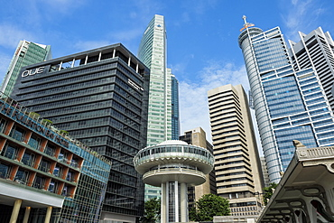 Downtown Central financial district, Singapore, Southeast Asia, Asia