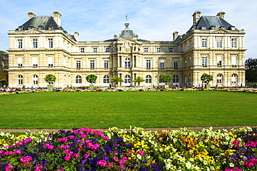 Luxembourg Palace and Gardens, Paris, France, Europe