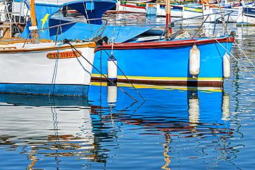 Port of Saint Tropez, Var, Provence Alpes Cote d' Azur region, France, Europe