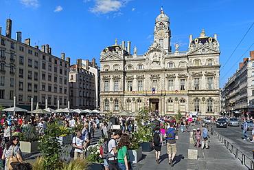 Place des Terreaux, Lyon, Rhone, France, Europe