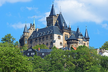 Wernigerode Castle, Harz, Saxony-Anhalt, Germany, Europe