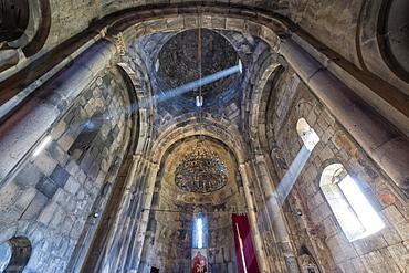 Inteiror of the 11th century Haghpat Monastery, UNESCO World Heritage Site, Haghpat, Lori Province, Armenia, Caucasus, Asia