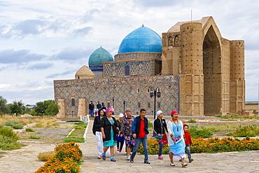 Khodja Ahmet Yasawi (Khoja Ahmed Yasawi) Mausoleum, UNESCO World Heritage Site, Turkistan, South region, Kazakhstan, Central Asia, Asia