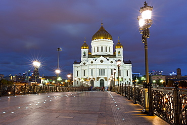 The Cathedral of Christ the Saviour, Moscow, Russia, Europe