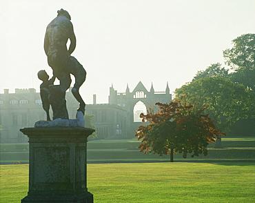 Newstead Abbey, home of Lord Byron, Nottinghamshire, England, United Kingdom, Europe