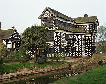 Little Moreton Hall, Cheshire, England, United Kingdom, Europe