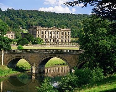 Chatsworth House, Derbyshire, England, United Kingdom, Europe
