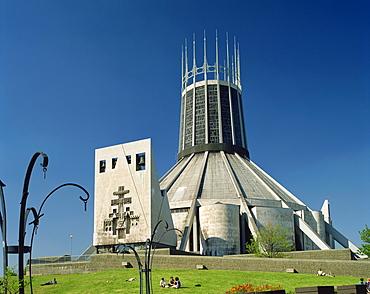 Liverpool cathedral, Liverpool, Merseyside, England, United Kingdom, Europe