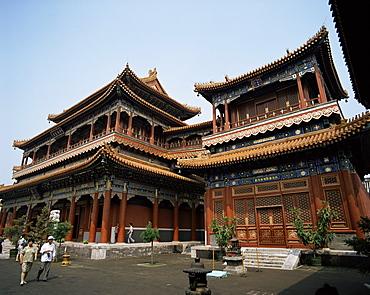 Lama Temple (Yonghegong), Beijing, China, Asia