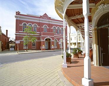 Street in Fremantle, Western Australia, Australia, Pacific