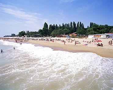 Golden sands, Bulgaria, Europe