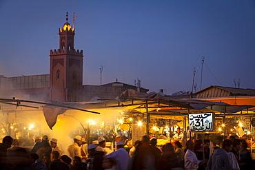 Djemaa el-Fna Square, The Medina, Marrakesh, Morocco, North Africa, Africa