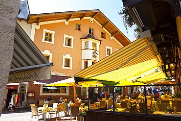 Local cafe and restaurant, Zell am See, Pinzgau, Salzkammergut, Austria, Europe