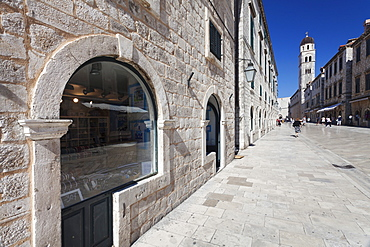 Placa (Stradun), Dubrovnik, Dalmatia, Croatia, Europe