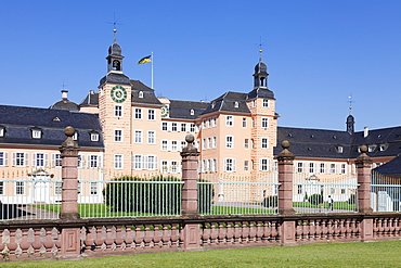 Schloss Schwetzingen Palace, Schwetzingen, Rhein-Neckar-Kreis, Baden Wurttemberg, Germany, Europe