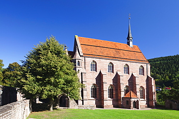 Marienkirche church, Hirsau Abbey, ruins, Black Forest, Baden Wurttemberg, Germany, Europe