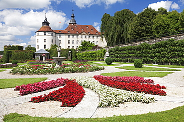 Schloss Langenburg (Langenburg Castle), Langenburg, Hohenlohe Region, Baden Wurttemberg, Germany, Europe