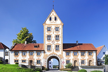Oberes Tor Gate, Rot an der Rot, Upper Swabia, Baden Wurttemberg, Germany, Europe