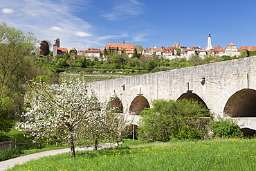 Rothenburg ob der Tauber, Romantic Road (Romantische Strasse), Franconia, Bavaria, Germany, Europe