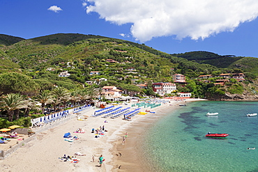 Morcone beach, Golfo Stella, Island of Elba, Livorno Province, Tuscany, Italy, Europe