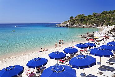 Beach of Cavoli, Island of Elba, Livorno Province, Tuscany, Italy, Europe