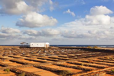 Las Salinas, Museo del Sal, Fuerteventura, Canary Islands, Spain, Atlantic, Europe