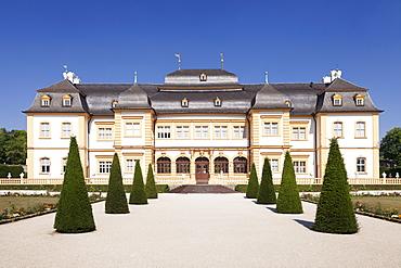 Schloss Veitshoechheim Castle, Roccoco garden, Veitshoechheim, Mainfranken, Lower Franconia, Bavaria, Germany, Europe