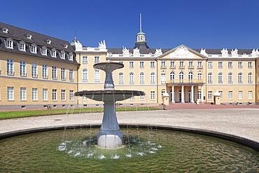Karlsruhe Castle, Karlsruhe, Baden Wurttemberg, Germany, Europe