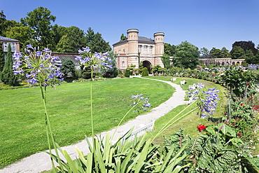 Botanical garden, castle gardens, Karlsruhe, Baden Wurttemberg, Germany, Europe