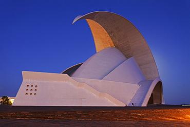 Auditorium by the architect Santiago Calatrava, Santa Cruz, Tenerife, Canary Islands, Spain, Europe
