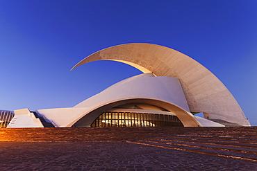 Auditorium by Santiago Calatrava, Santa Cruz, Tenerife, Canary Islands, Spain, Europe