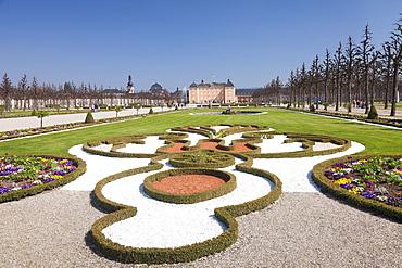 Schloss Schwetzingen Palace, Baroque Garden, Schwetzingen, Baden-Wurttemberg, Germany, Europe