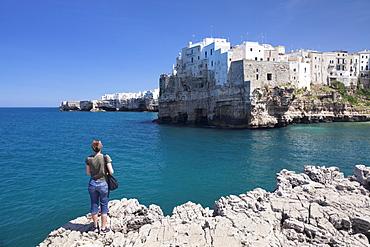 Polignano a Mare, Bari district, Puglia, Italy, Europe