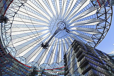 Sony Center, Potsdamer Platz Square, Berlin Mitte, Berlin, Germany, Europe