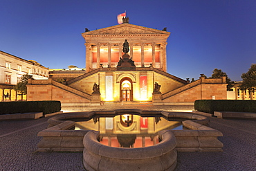 Alte Nationalgalerie (Old National Gallery), Museum Island, UNESCO World Heritage Site, Mitte, Berlin, Germany, Europe
