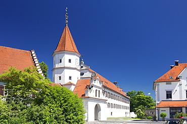 Monastery Schussenried, Bad Schussenried, Upper Swabian Baroque Route, Upper Swabia, Baden-Wurttemberg, Germany, Europe