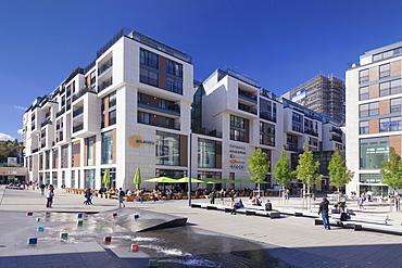 Milaneo shopping center, Europaviertel neighbourhood, Stuttgart, Baden-Wurttemberg, Germany, Europe