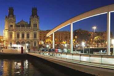 Rambla del Mar at Port Vell, Barcelona, Catalonia, Spain, Europe
