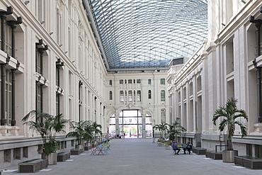 Galeria de Cristal, Palacio de Comunicaciones, Plaza de la Cibeles, Madrid, Spain, Europe