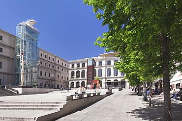 Reina Sofia Museum, Paseo del Prado, Madrid, Spain, Europe