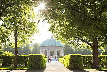 Diana Temple Hofgarten park, Munich, Bavaria, Germany