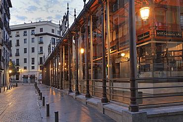 Mercado de San Miguel, covered market, Madrid, Spain, Europe