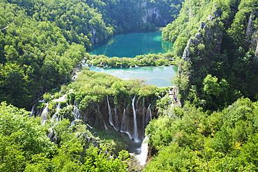 Gavanovac Lake, Plitvice Lakes National Park, UNESCO World Heritage Site, Croatia, Europe