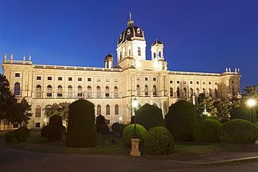 Natural History Museum, Maria Theresien Platz Square, Vienna, Austria, Europe